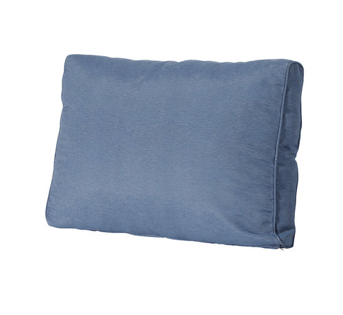 Madison Rückenkissen für Loungemöbel und Garnitur 60 x 43cm Lounge   Panama Saphir Blau