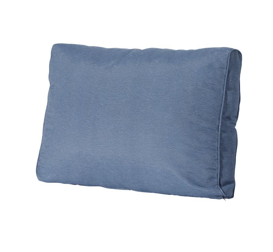 Lounge Rugkussen 60 x 43cm voor loungeset of tuinset | Panama Saffier Blauw