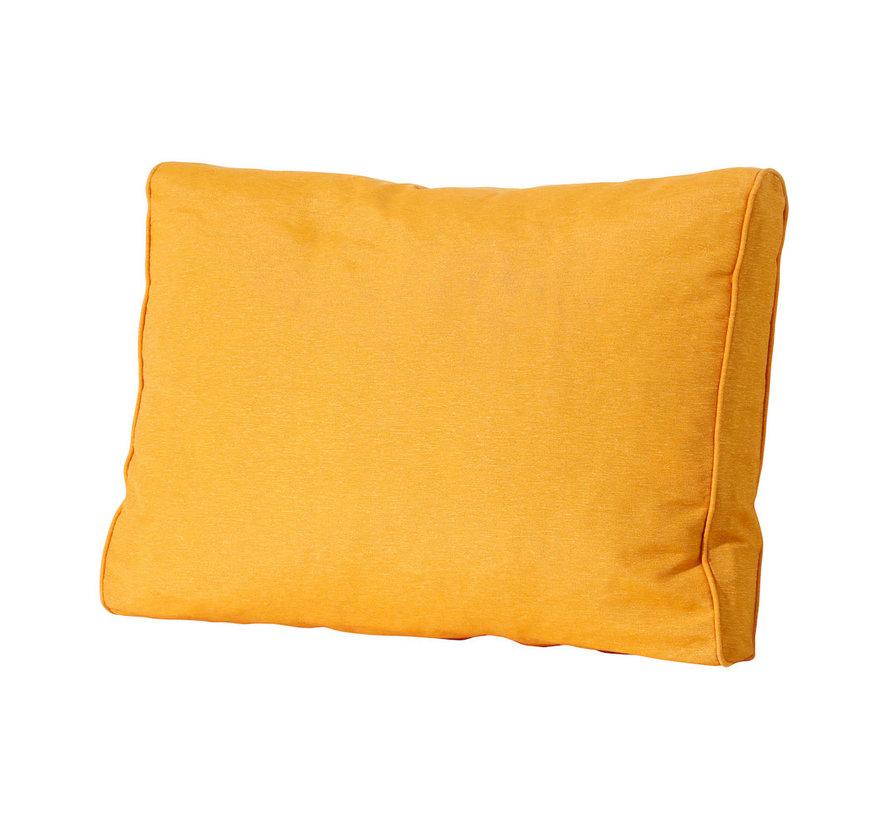 Lounge Rugkussen 60 x 43cm voor loungeset of tuinset   Panama Okergeel