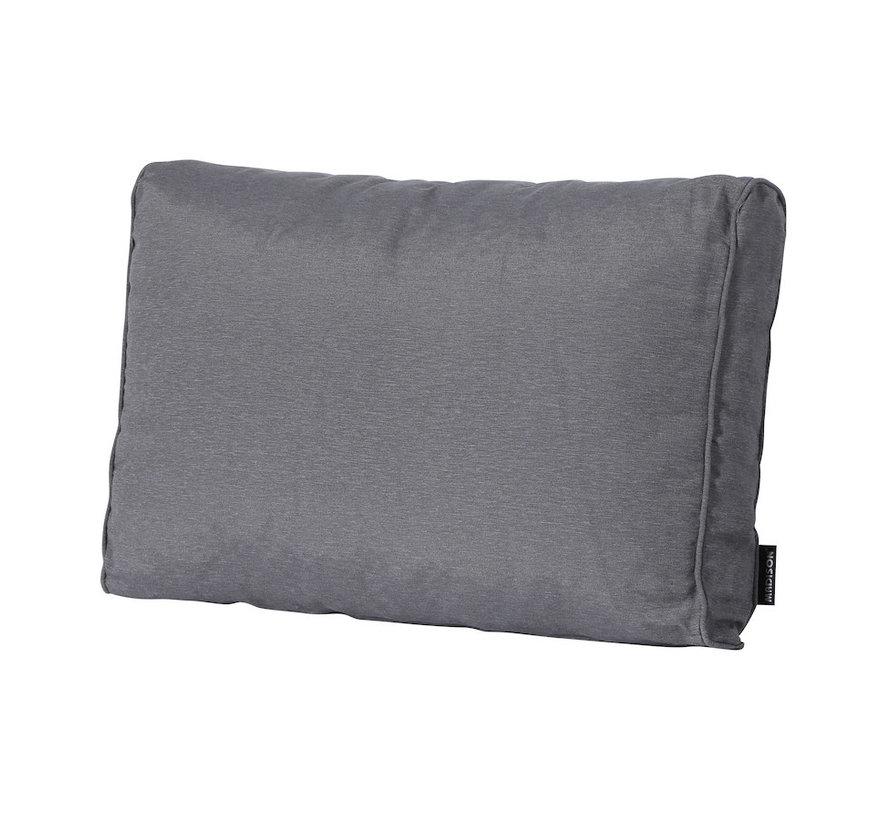 Rückenkissen für Loungemöbel und Garnitur 60 x 43cm Lounge   Panama Grau