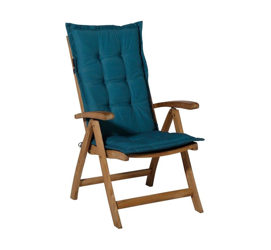 Madison stoelkussen hoge rug Sea Blauw 123cm