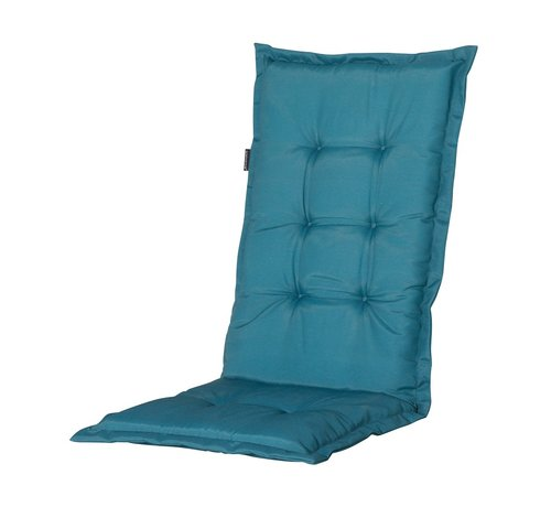 Madison Madison Stuhlauflage Hochlehner Sea Blau 123cm