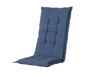 Madison Stuhlauflage Panama Saphir Blau