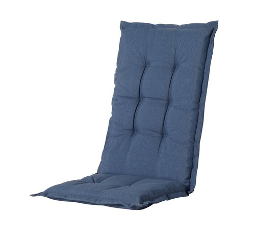 Madison Madison Stuhlauflage Hochlehner Saphir Blau 123cm