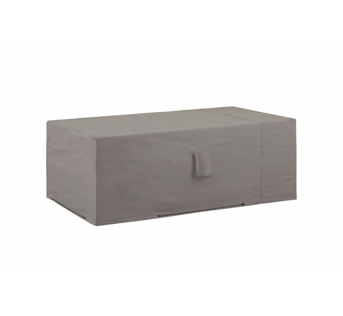 Madison Wasserabweisende Gartenbank 130x75x65cm - Grau