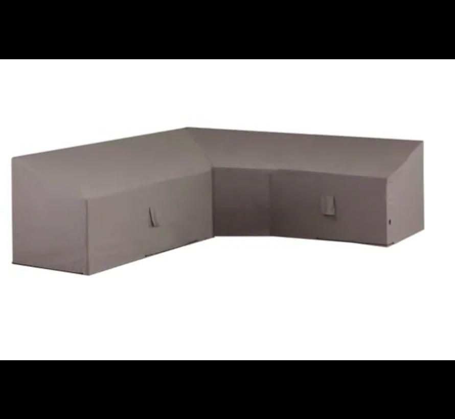 Waterafstotende Loungeset Beschermhoes  270x70x65/90cm - Grijs