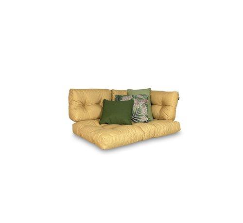 Madison Set mit 3 dekorativen Kissen l Sage Grün   Grün   Lenny Taupe