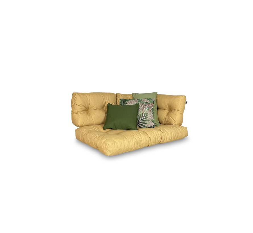 Set mit 3 dekorativen Kissen l Sage Grün   Grün   Lenny Taupe
