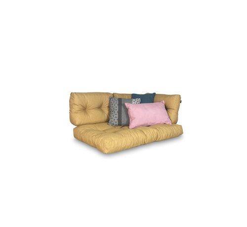 Madison Set van 3 Sierkussens voor uw tuinstoel l Roze | Sea Blauw | Pasa Grijs