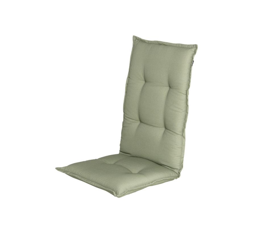 Hartman stoelkussen hoge rug Cuba Groen 123cm