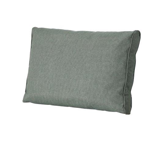 Madison Outdoor Oxford rugkussen voor loungeset of tuinset 60 x 43cm - Groen