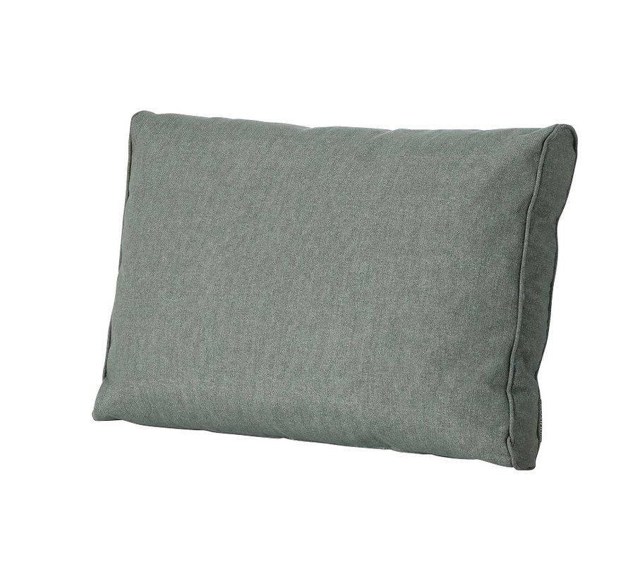Outdoor Oxford rugkussen voor loungeset of tuinset 60 x 43cm - Groen