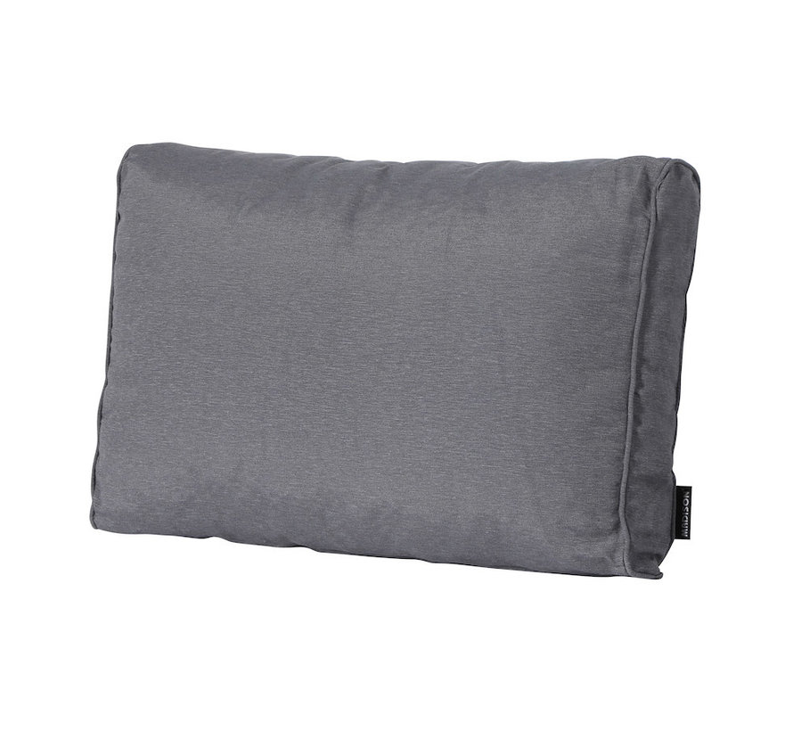 Rückenkissen für Loungemöbel und Garnitur 73 x 43cm Lounge | Panama Grau
