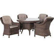 4 Seasons Outdoor Madoera Dining set