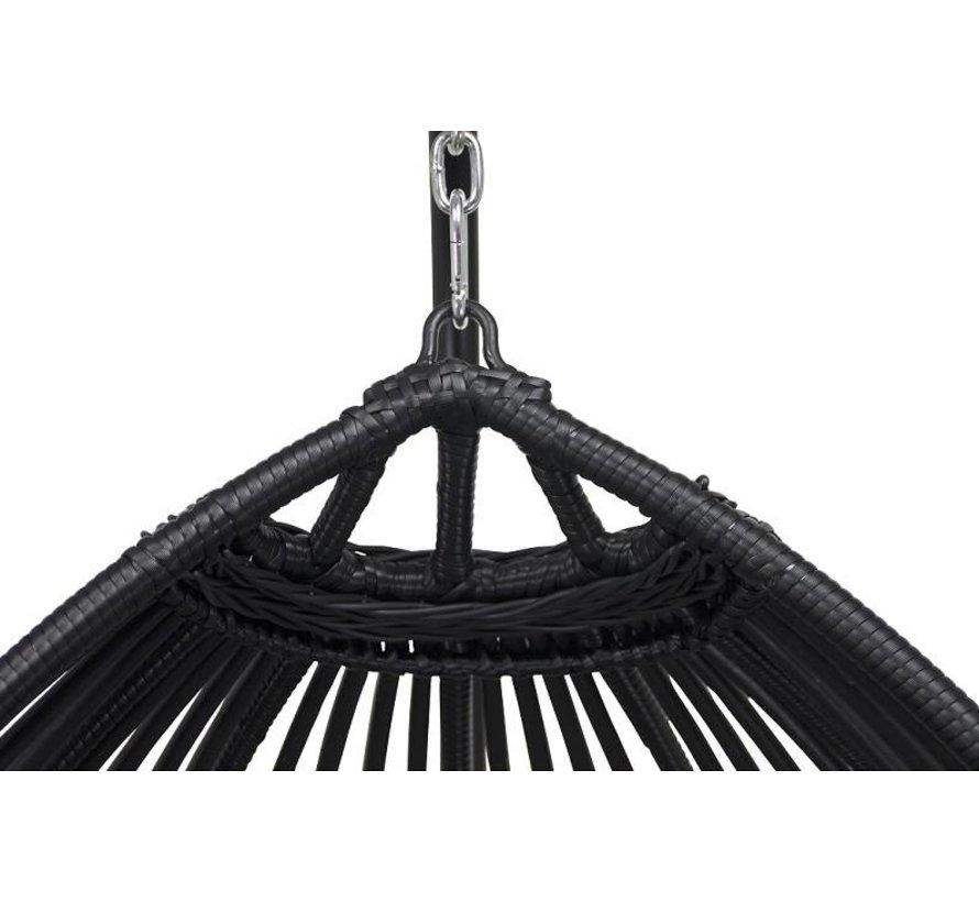 Reint Middel Paris Hangstoel inclusief kussen | Zwart