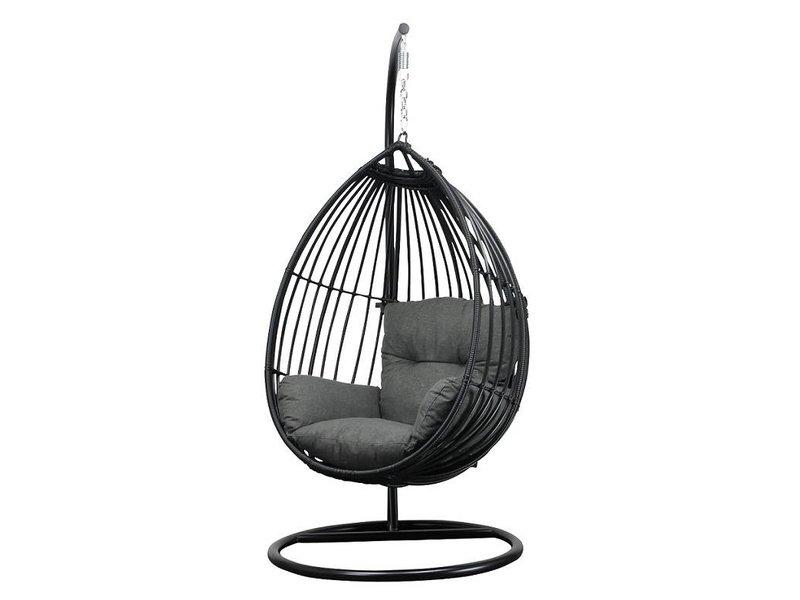 Egg Chair Met Standaard.Hangstoel Met Standaard Eggchair Paris Tuinmeubelcentrum Reint