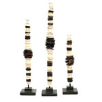 Bazar Bizar The Money Shell on Stand - Set of 3
