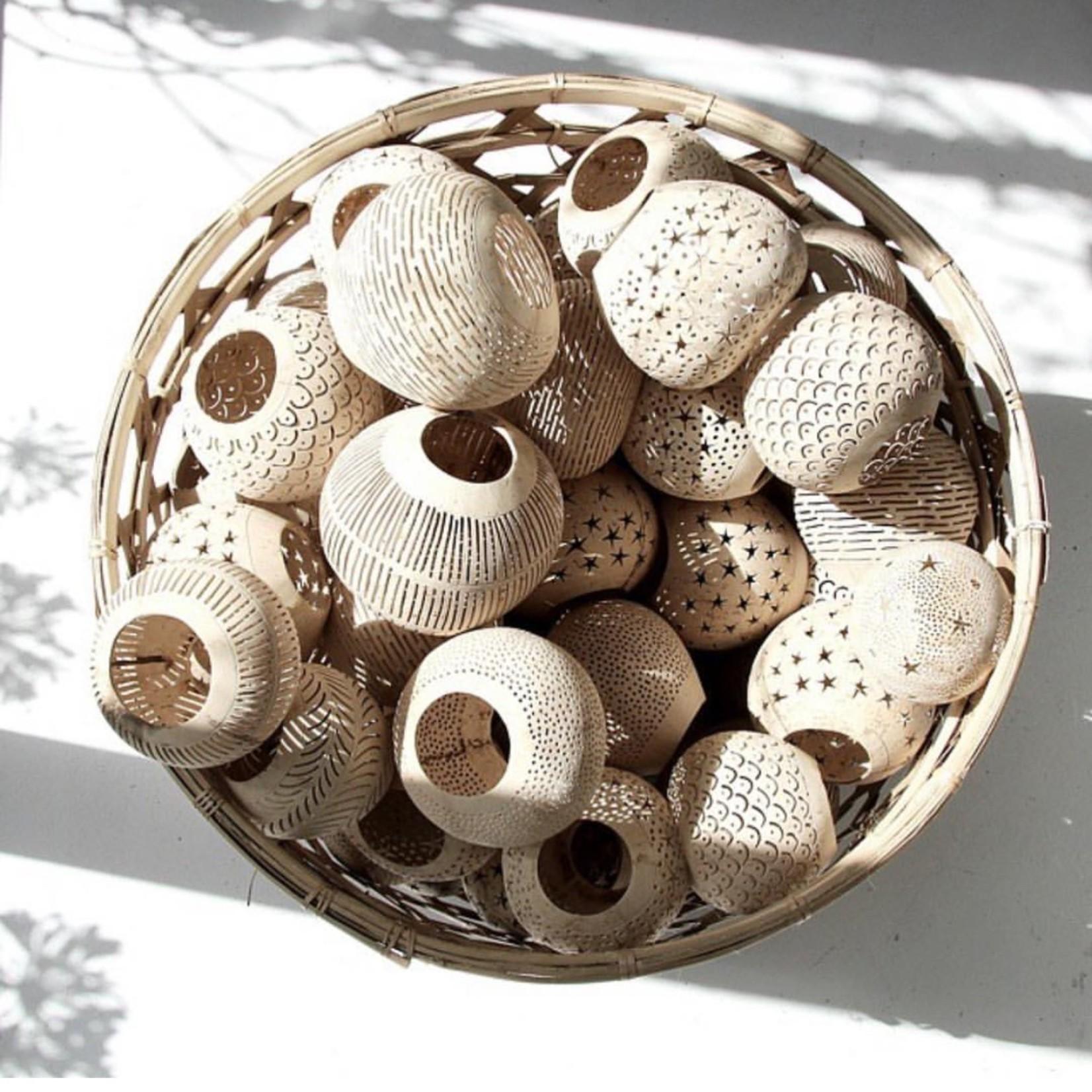 Bazar Bizar De Coconut Spot Kaarshouder - Naturel
