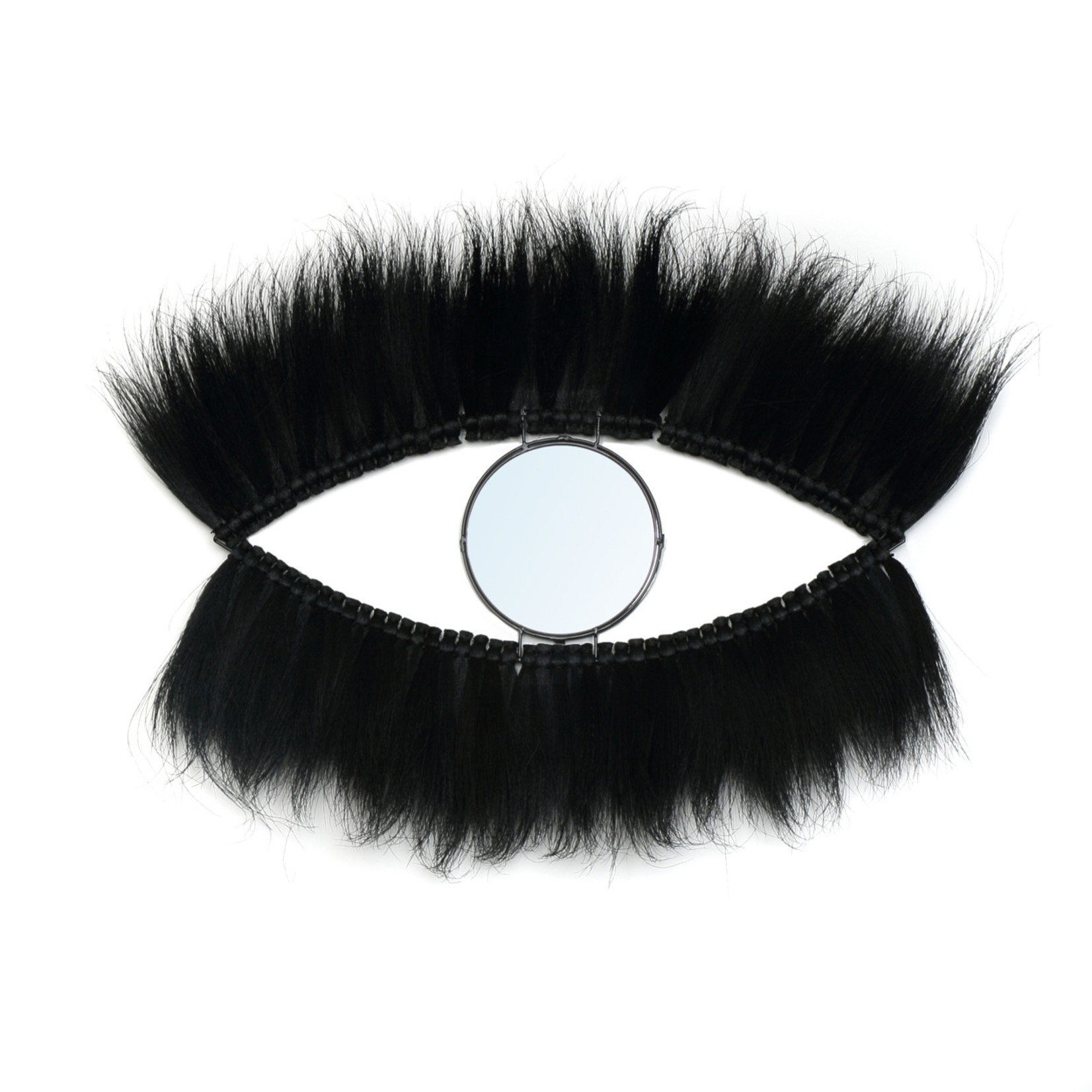 Bazar Bizar De  Black Eye Spiegel - Zwart