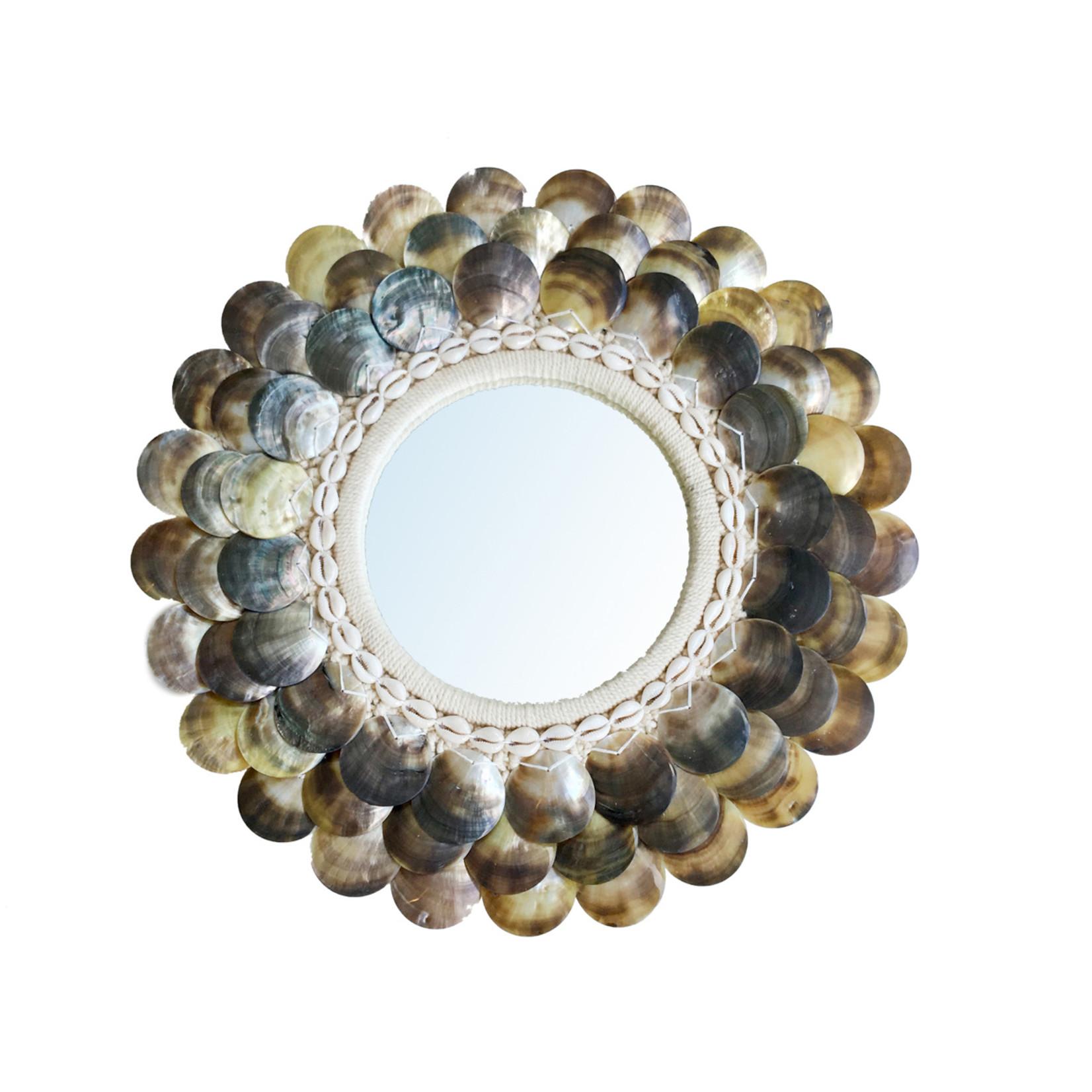 Bazar Bizar The Coin Spiegel - Naturel Bruin - M