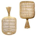 Bazar Bizar The Dumpling Floor Lamp - Pendant - Natural - L
