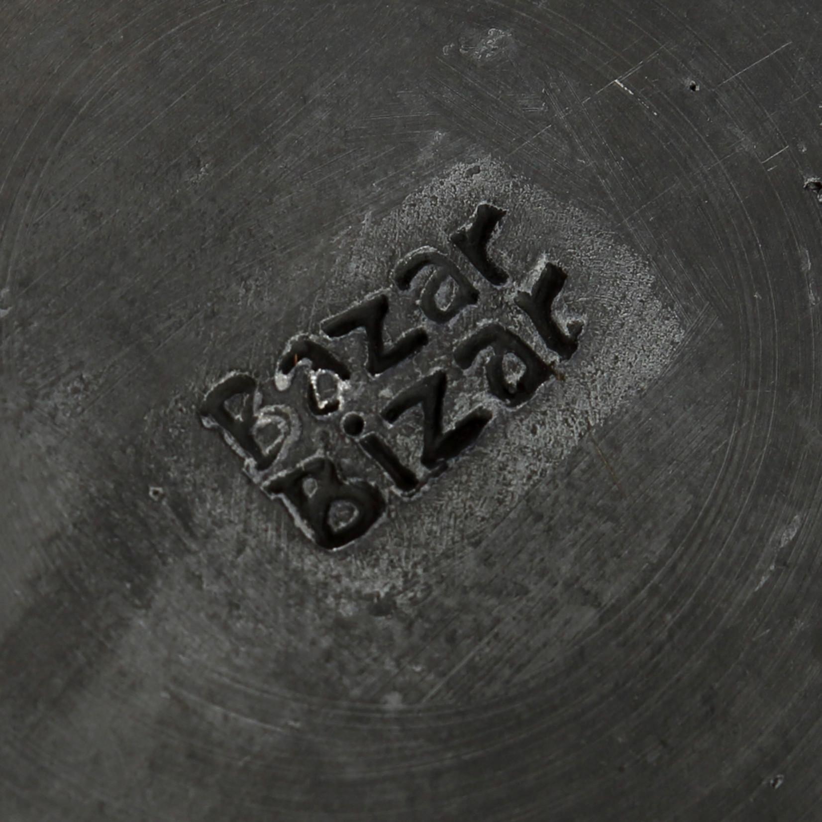 Bazar Bizar Het Burned Classic Bord - Zwart - M