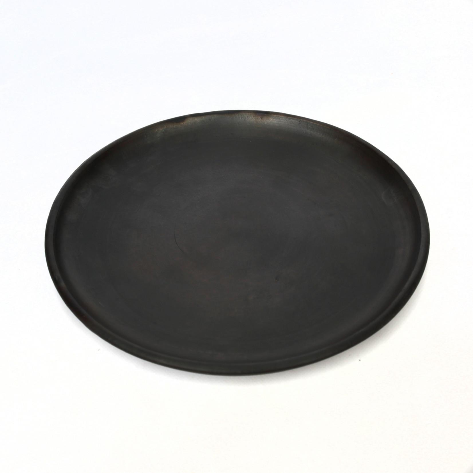 Bazar Bizar The Burned Classic Plate - Black - L