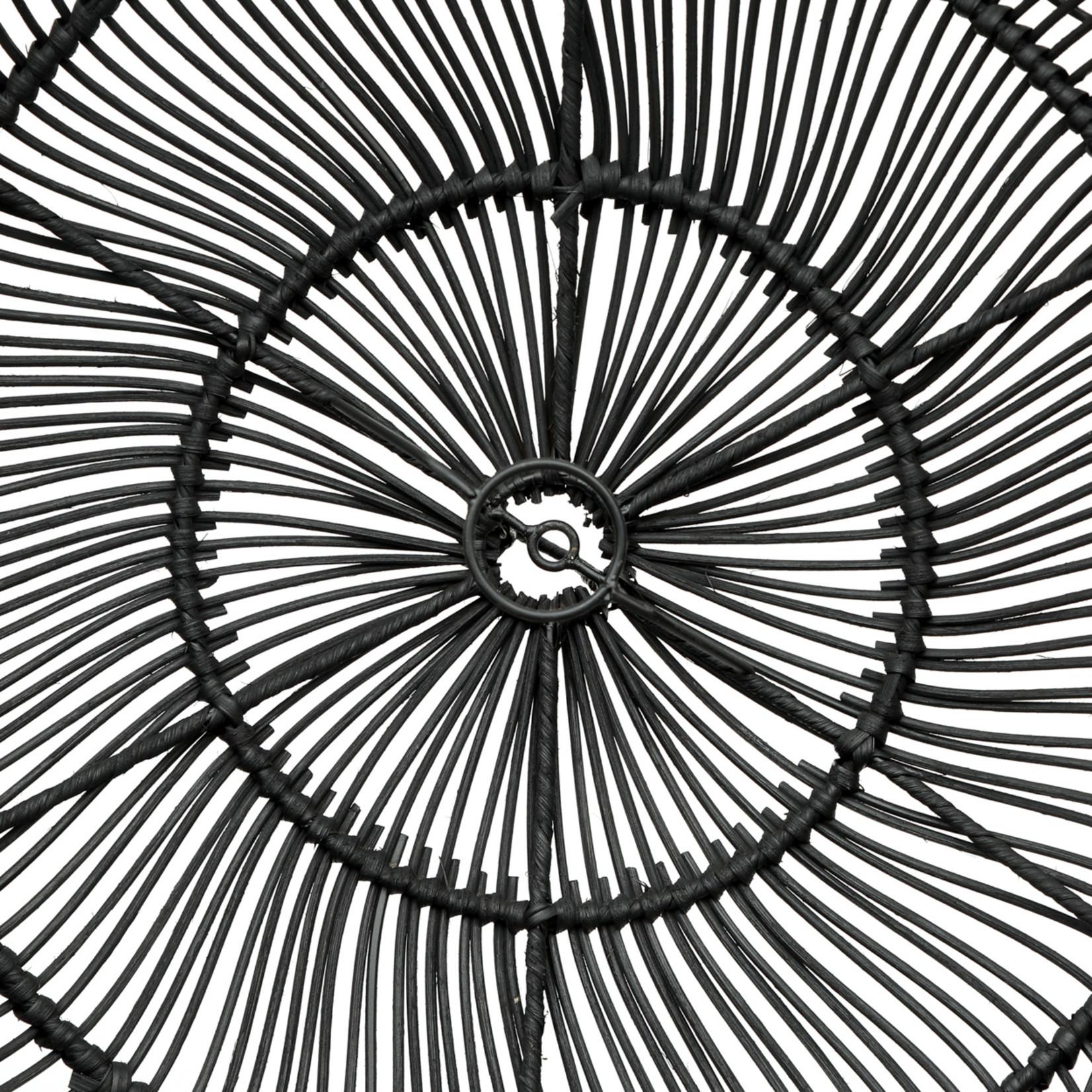 Bazar Bizar De Paraguas Hanglamp - Zwart - M