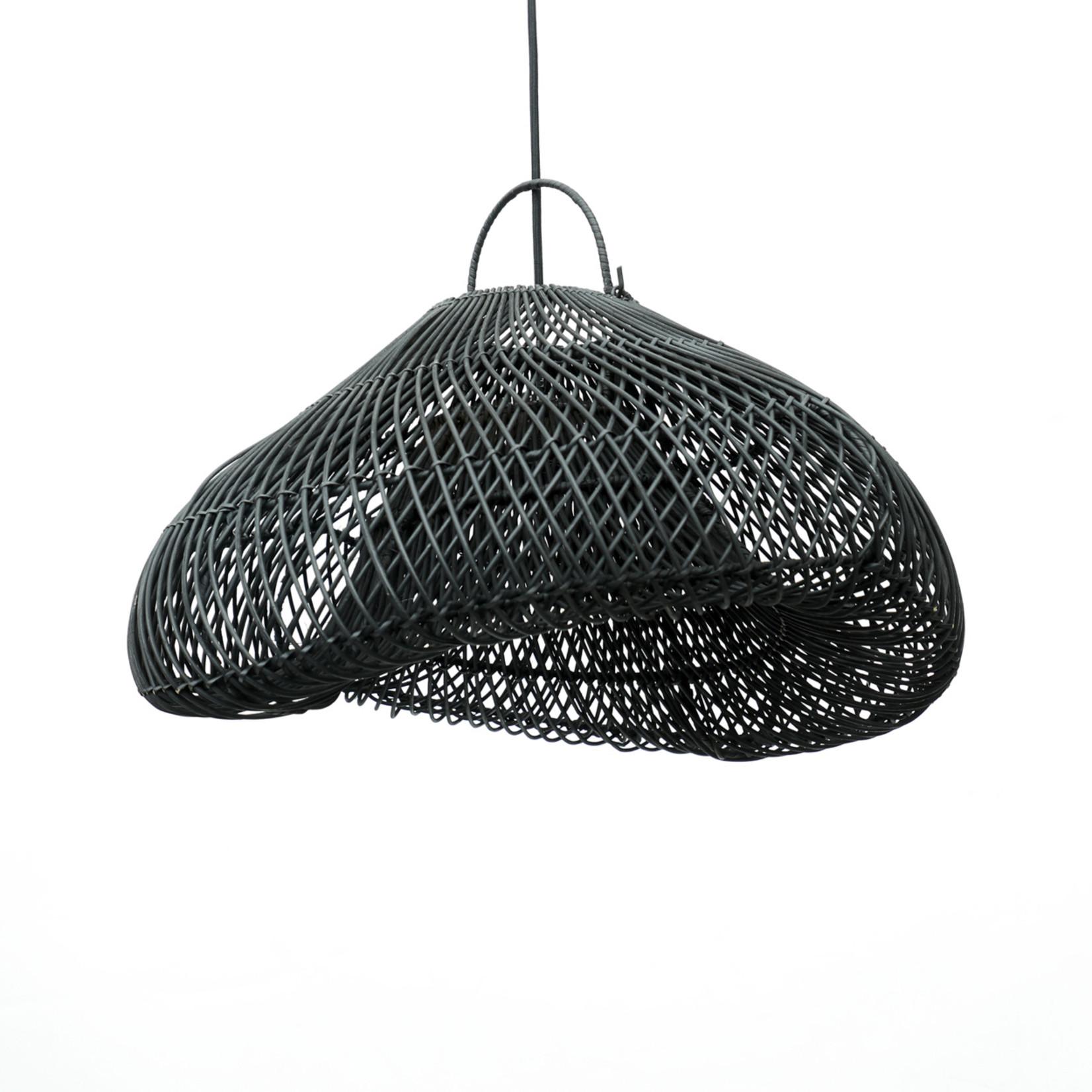Bazar Bizar De Cloud Hanglamp - Zwart - M
