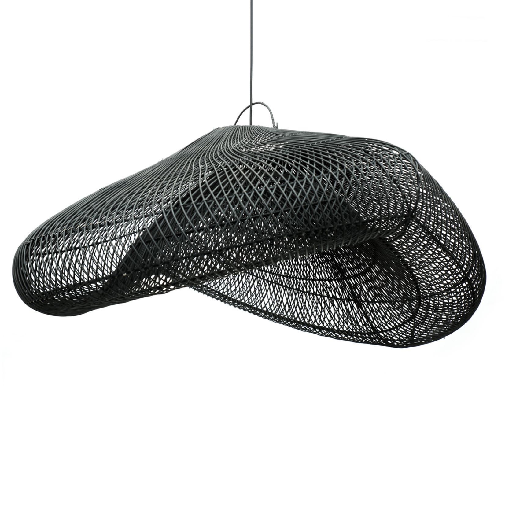 Bazar Bizar De Cloud Hanglamp - Zwart - XXL