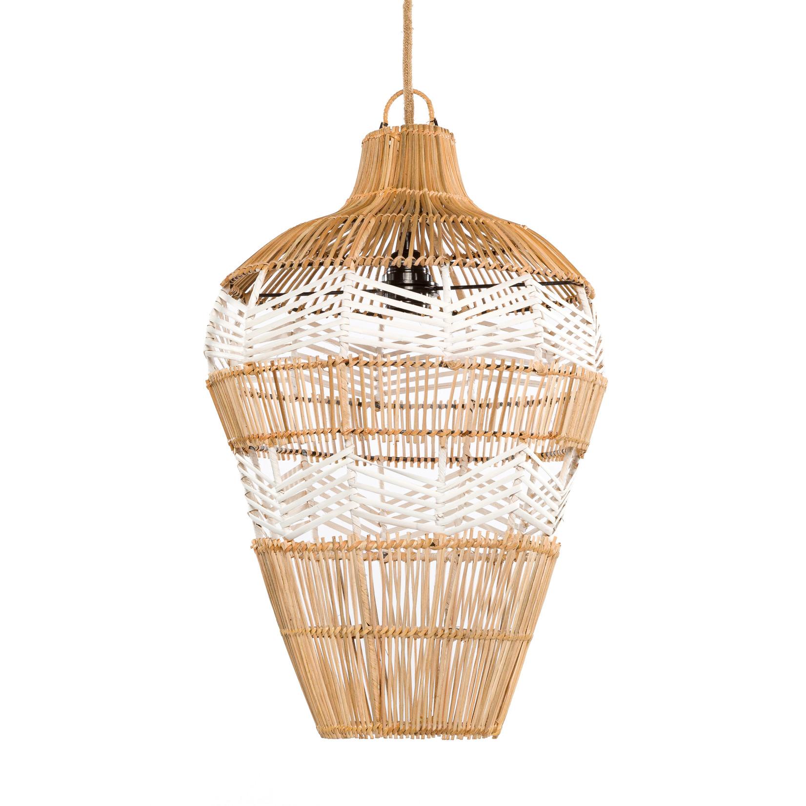 Bazar Bizar De Vase Hanglamp - Naturel Wit