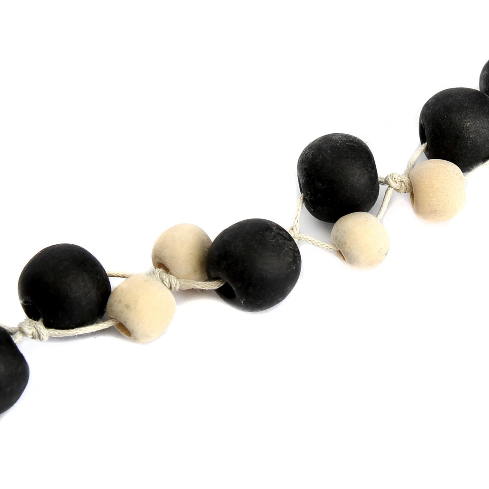 Bazar Bizar The Canggu Necklace - Natural Black