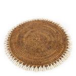 Bazar Bizar De Colonial Shell Placemat - Naturel Bruin