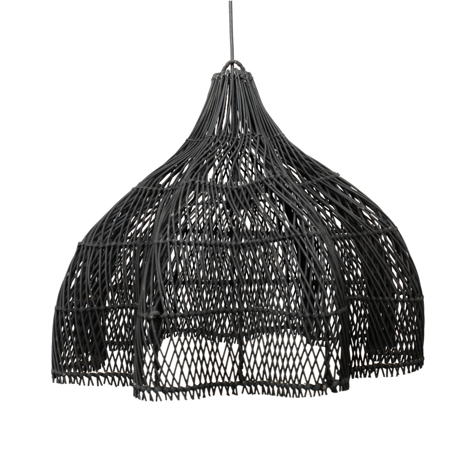 Bazar Bizar De Whipped Hanglamp - Zwart - M