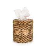 Bazar Bizar The Colonial Tissue Box - Natural Brown