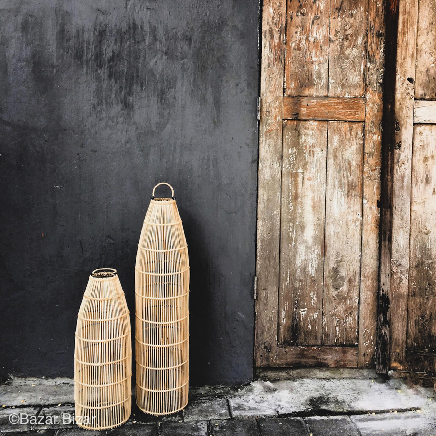 Bazar Bizar De Fish Trap Hanglamp - Natural - M