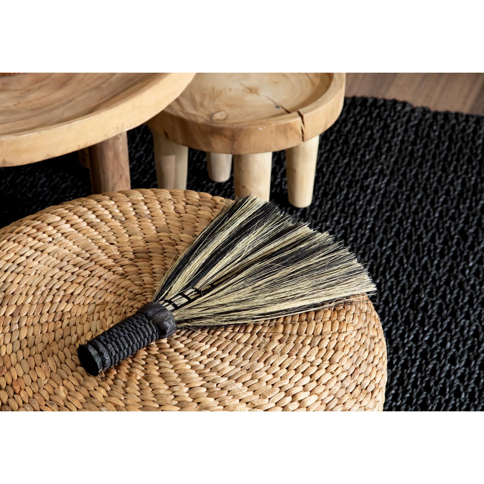 Bazar Bizar De Sweeping Handveger - Zwart Naturel