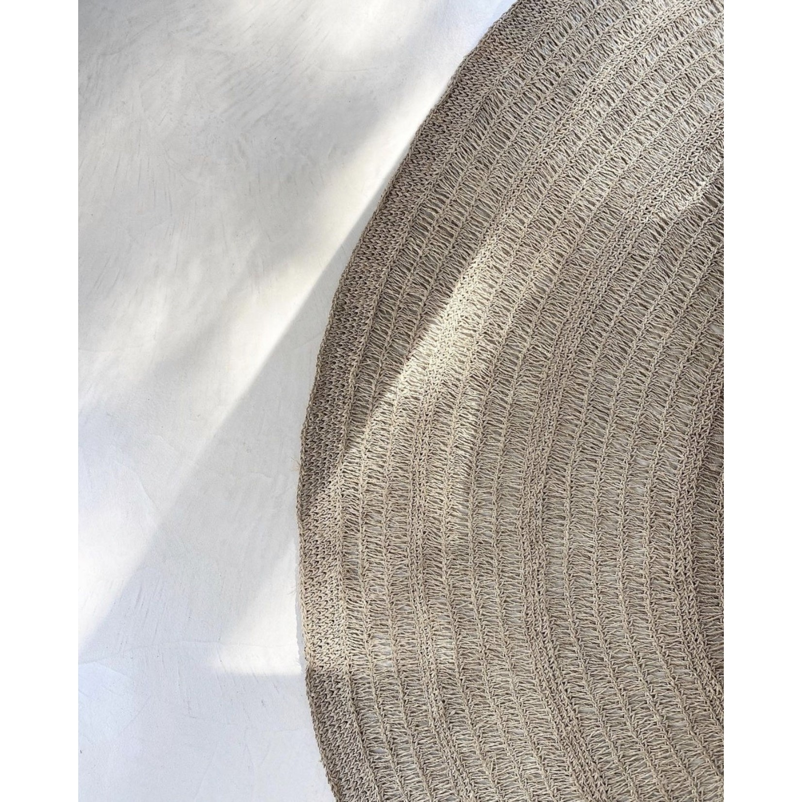 Bazar Bizar De Seagrass Tapijt - Naturel - 200cm