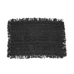 Bazar Bizar The Oh My Gee Placemat - Black Navy - Set of 4