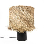 Bazar Bizar The Pandan Table Lamp - Black Natural