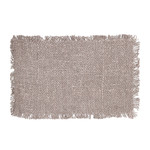 Bazar Bizar The Oh My Gee Placemat - Pearl Grey - Set of 4