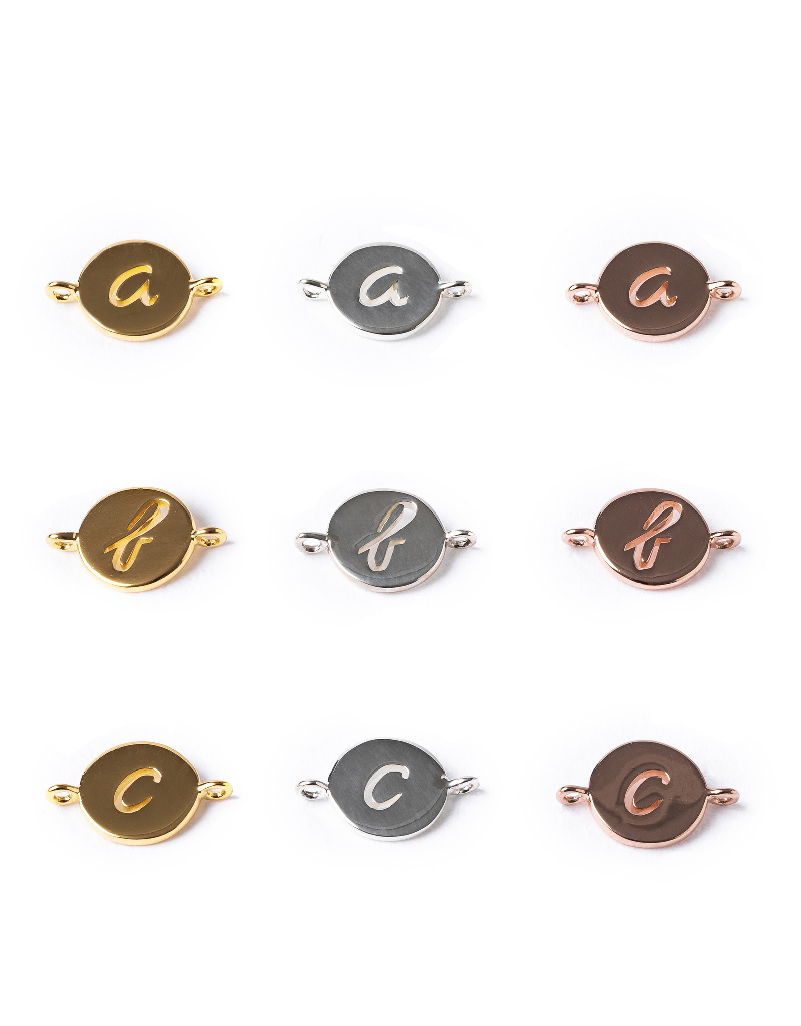 Design your necklace with 4 charms