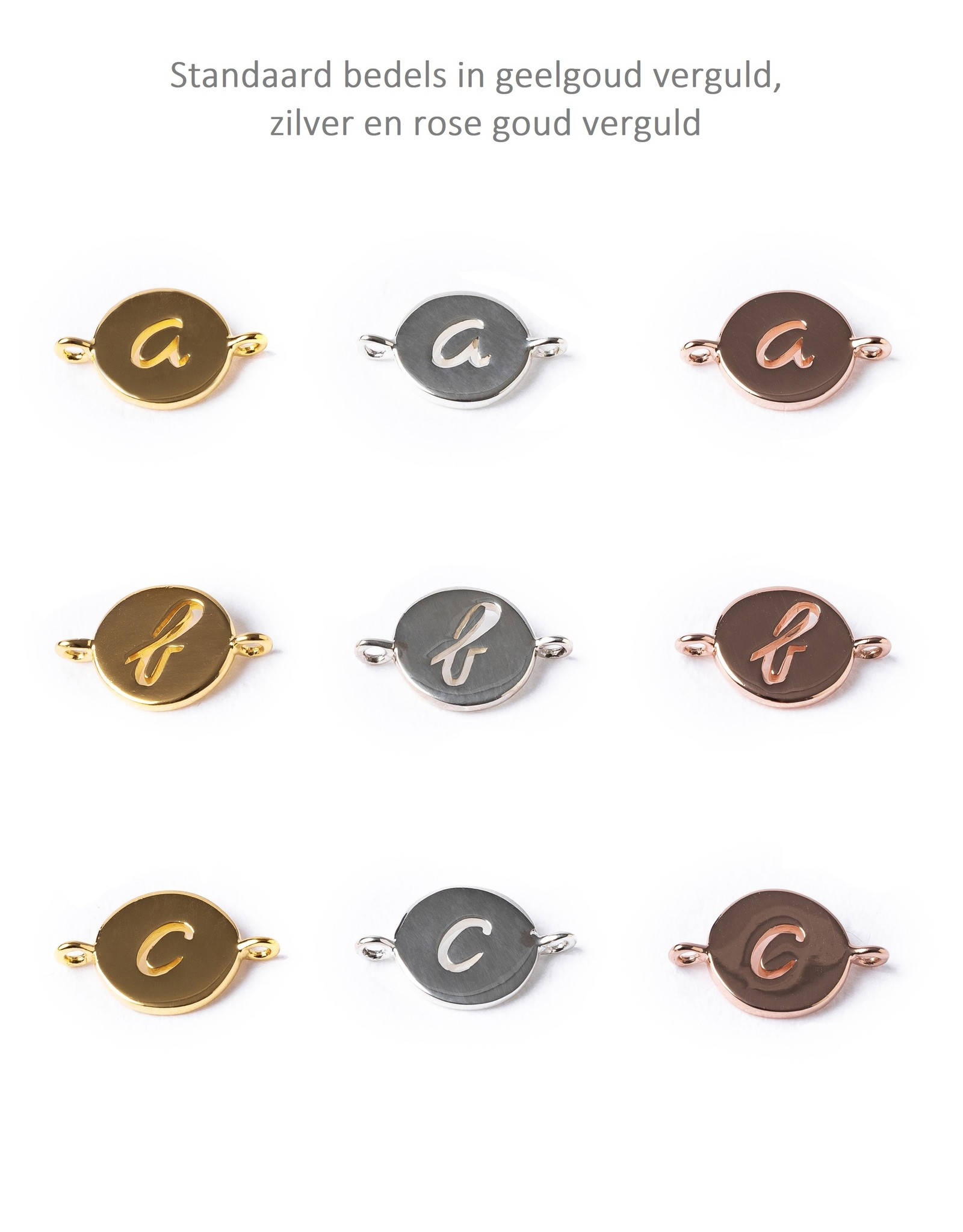 Design your necklace with 2 charms
