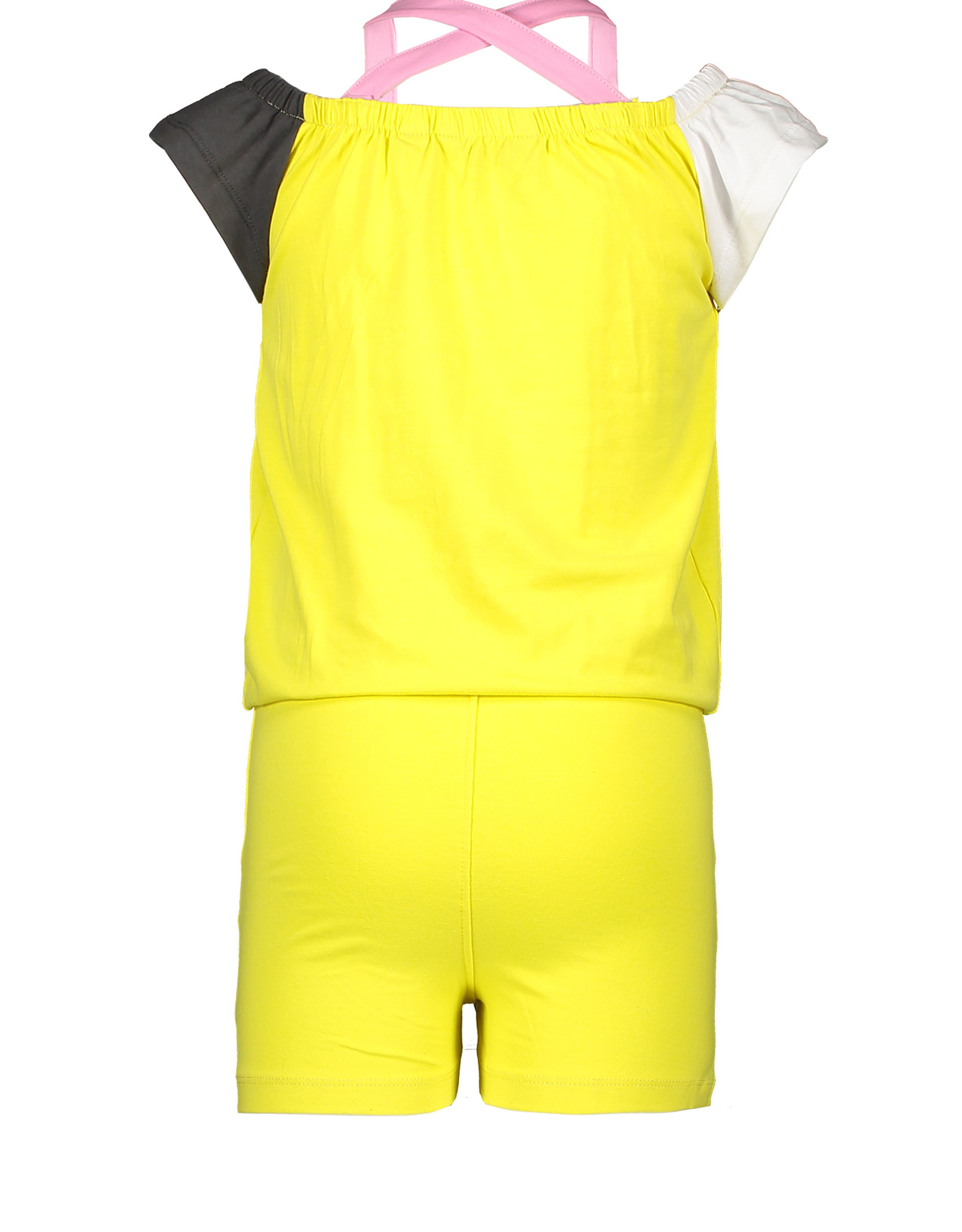 Moodstreet Moodstreet playsuit 5610 yellow