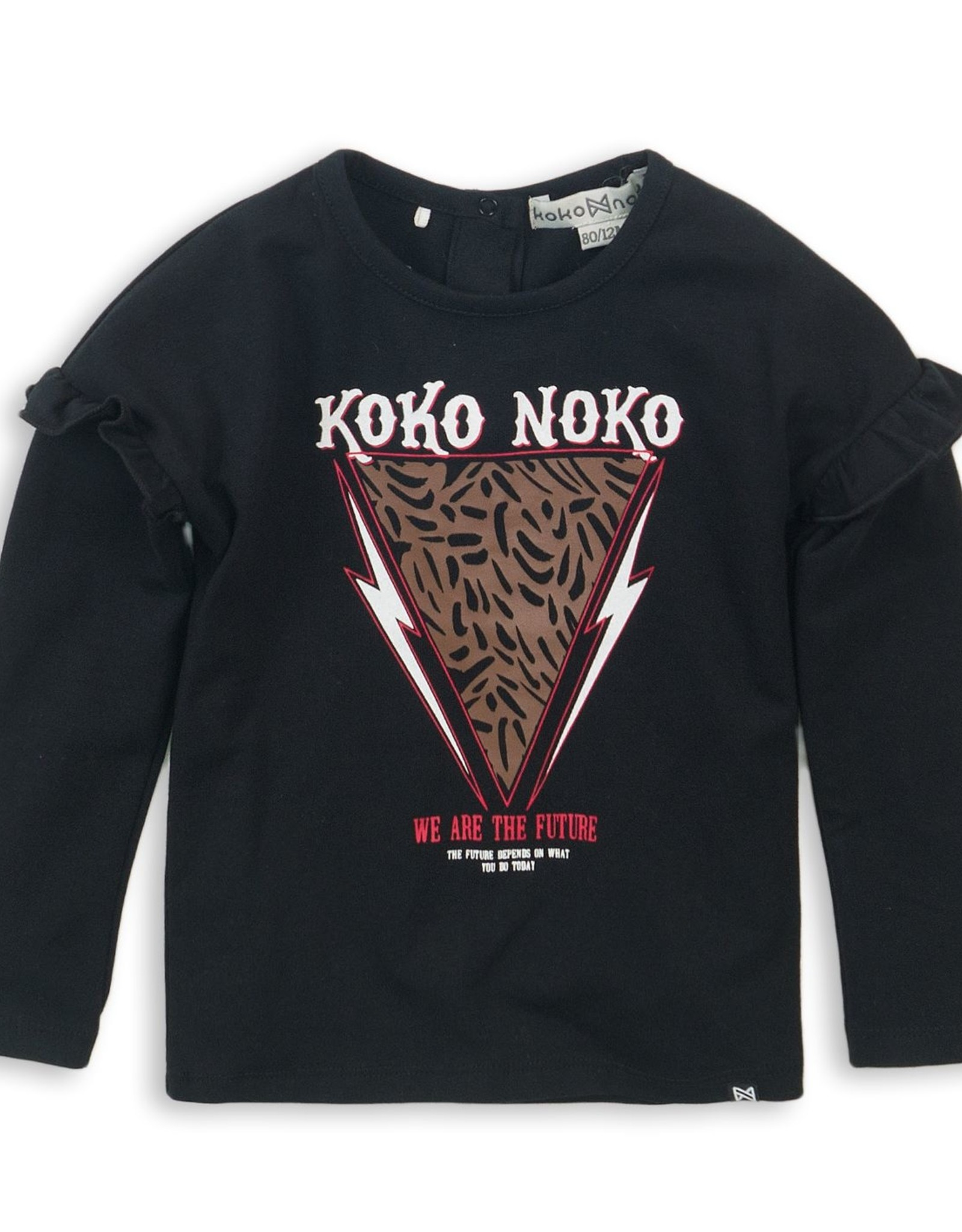 Koko Noko Koko Noko shirt 36919 zwart