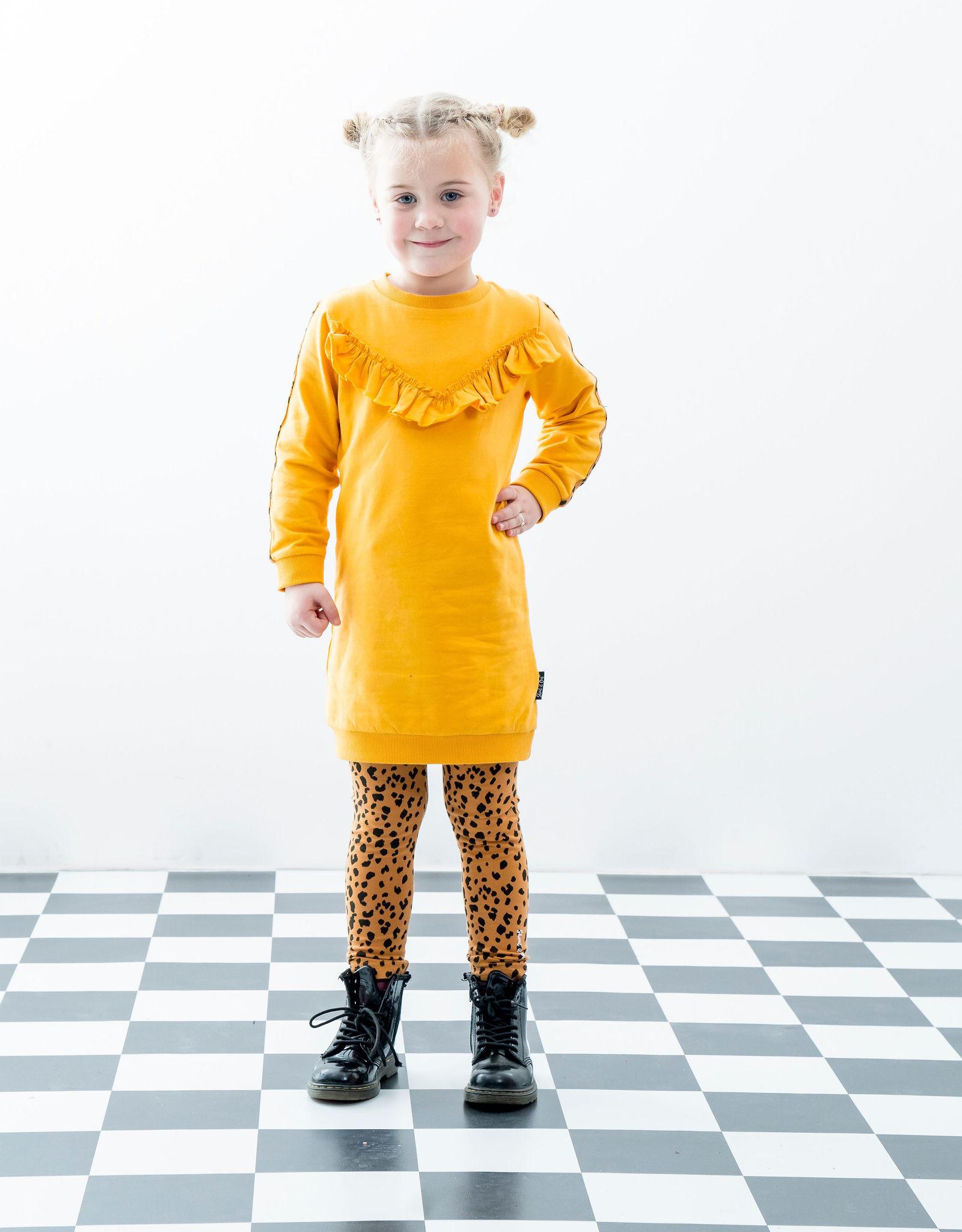 Shout it out Shout it out Ruffle Dress Yellow