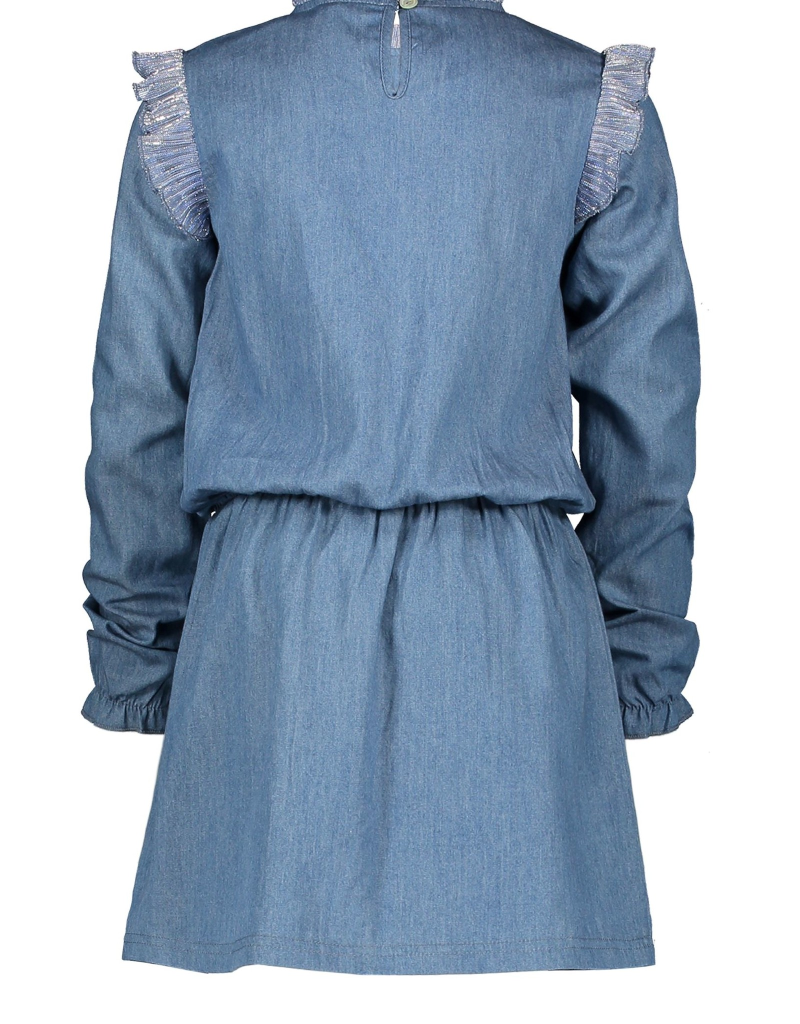 Moodstreet Moodstreet jurkje 5840 soft blue