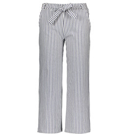 Moodstreet Moodstreet striped pants 5681 navy blazer