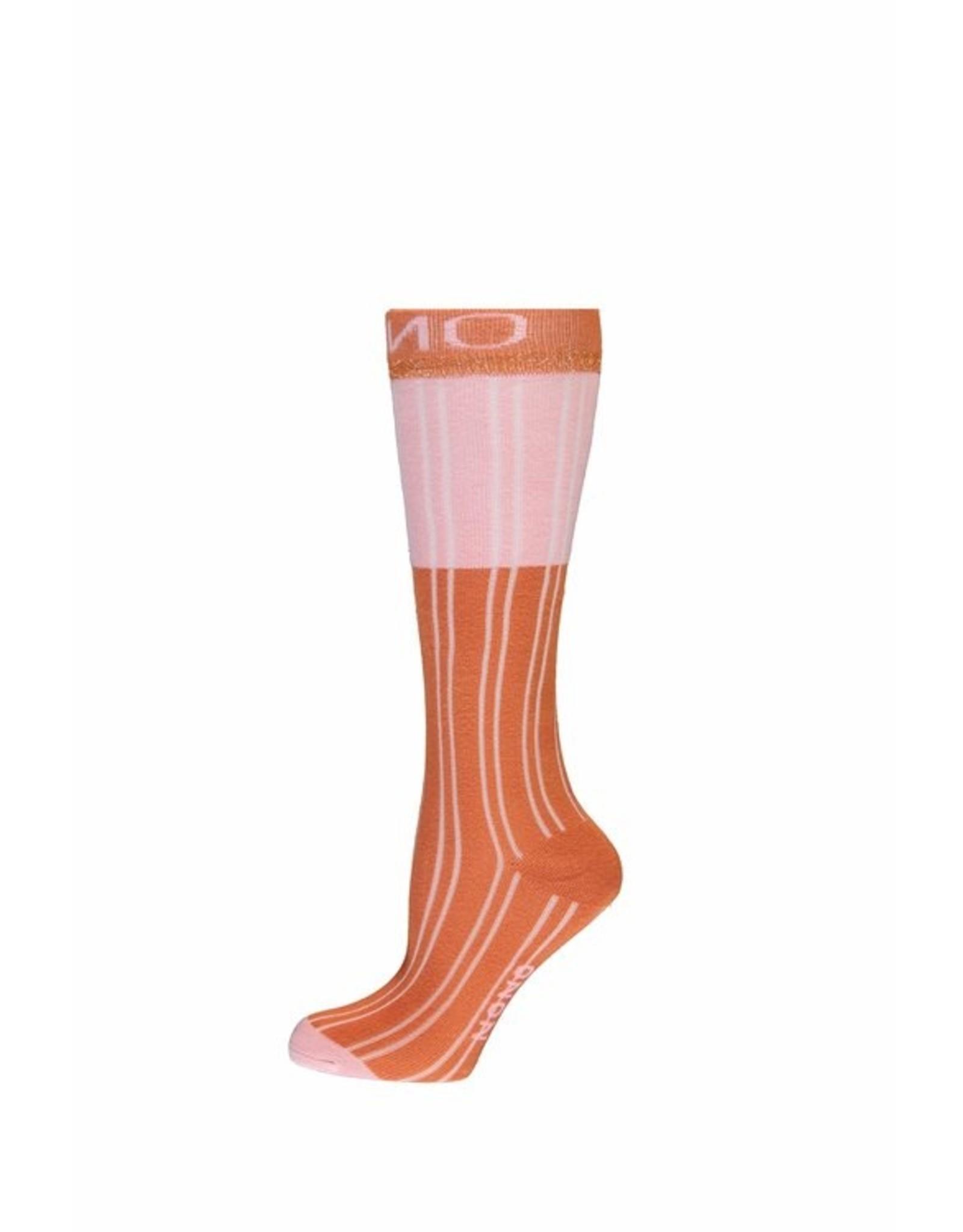 NONO NONO sokken 5901 cinnamon