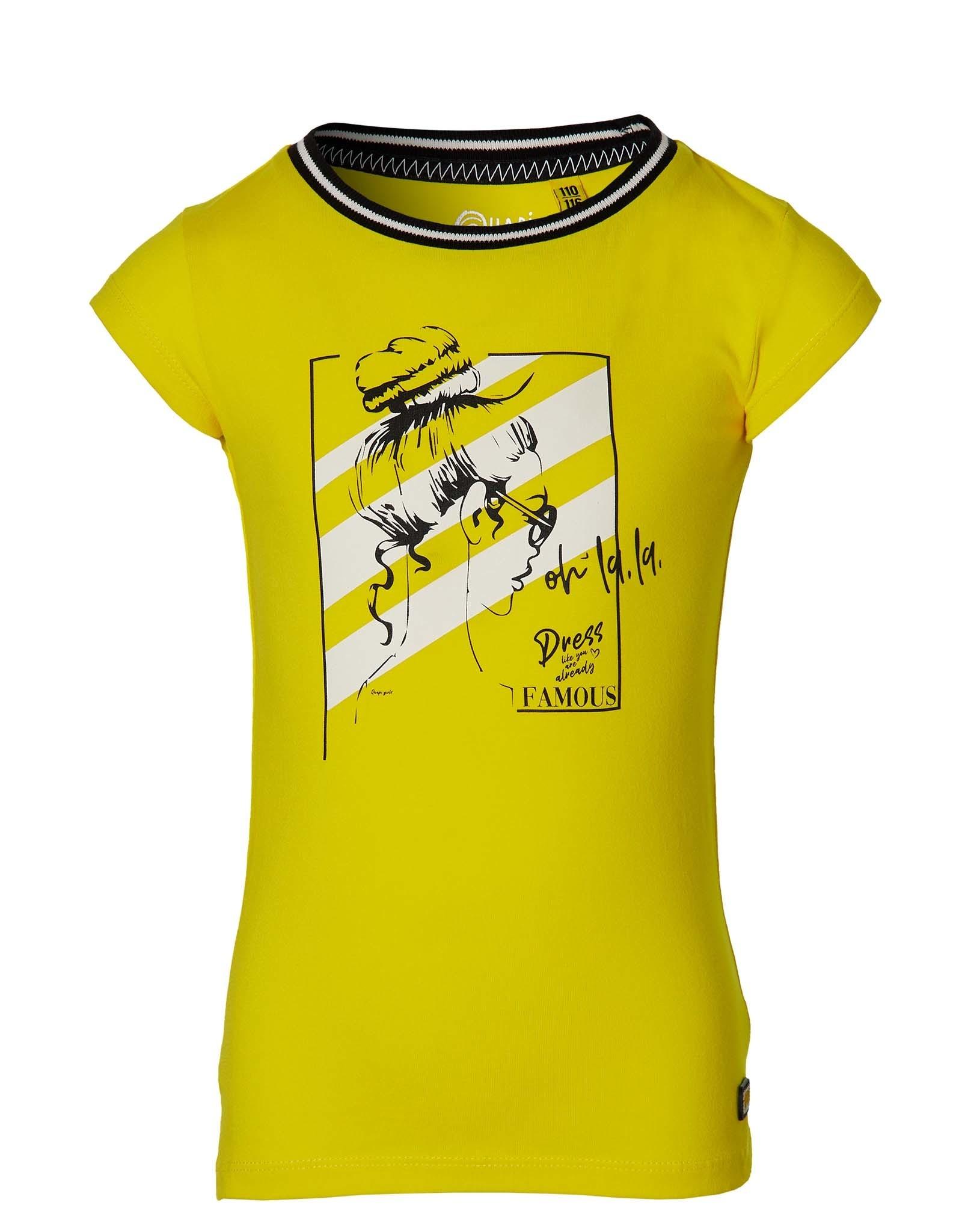 Quapi Quapi shirt Fara yellow